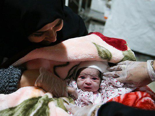 Two Babies Born in Makeshift Hospital amid Iran Earthquake