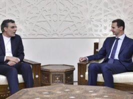 Iran's Deputy FM Holds Talks with Syrian President