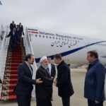 Iran President Arrives in Russia's Sochi for Syria Talks