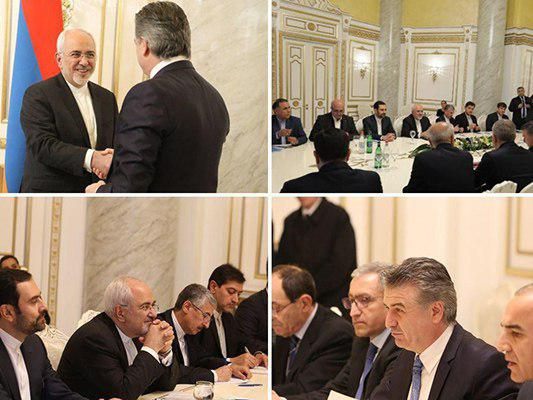 Armenian and Iranian businessmen exchange ideas in Yerevan