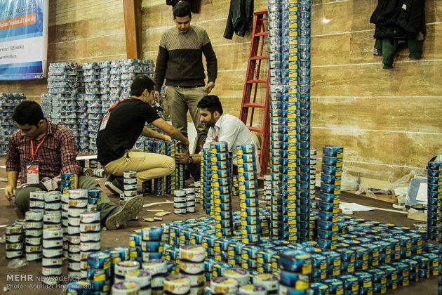 إنشاء الهياكل بعلب الصفيح بمدينة يزد