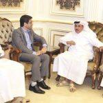 قطر تتطلع لتسريع نقل البضائع وتسهيل التبادل التجاري مع إيران
