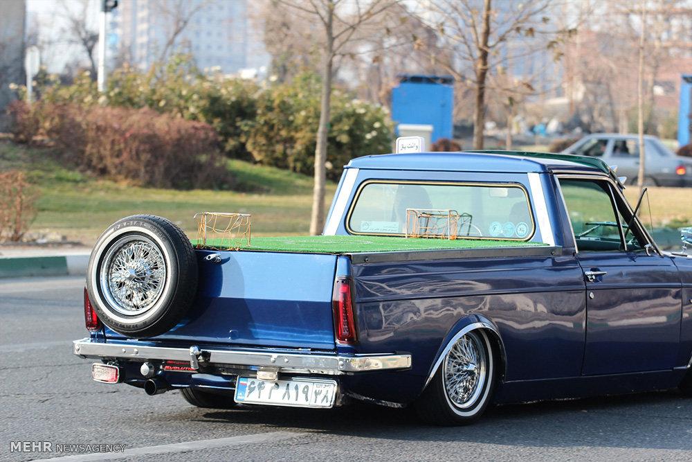Classic Car Exhibition Held in Tehran