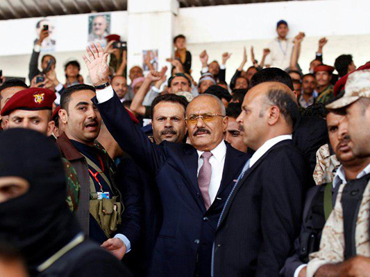 Riyadh Launches Cyber Campaign to Support Yemen's Saleh