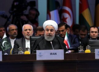 Hassan Rouhani at OIC