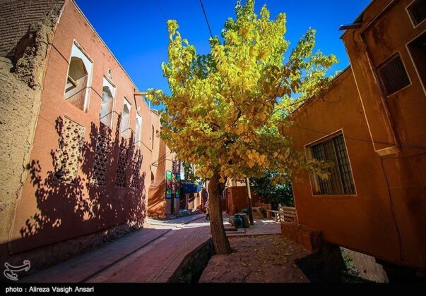 Autumn in Ancient Iranian Village of Abyaneh