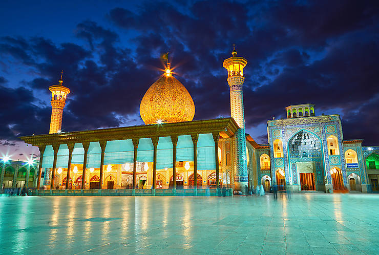Foreign Policy >> Italian Paper Praises Beauty of Iranian Mosque
