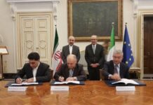 Iran, Italy Sign €5 Billion Investment Deal