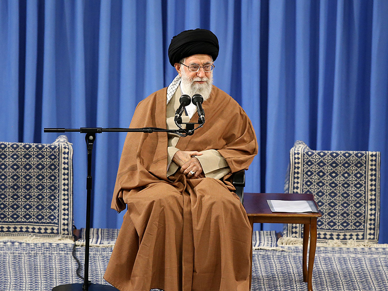 Khamenei blames US, Israel for inciting Iran protests