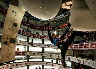 متسلقة جليد ايرانية تتاهل إلي نهائي بطولة العالم في سويسرا