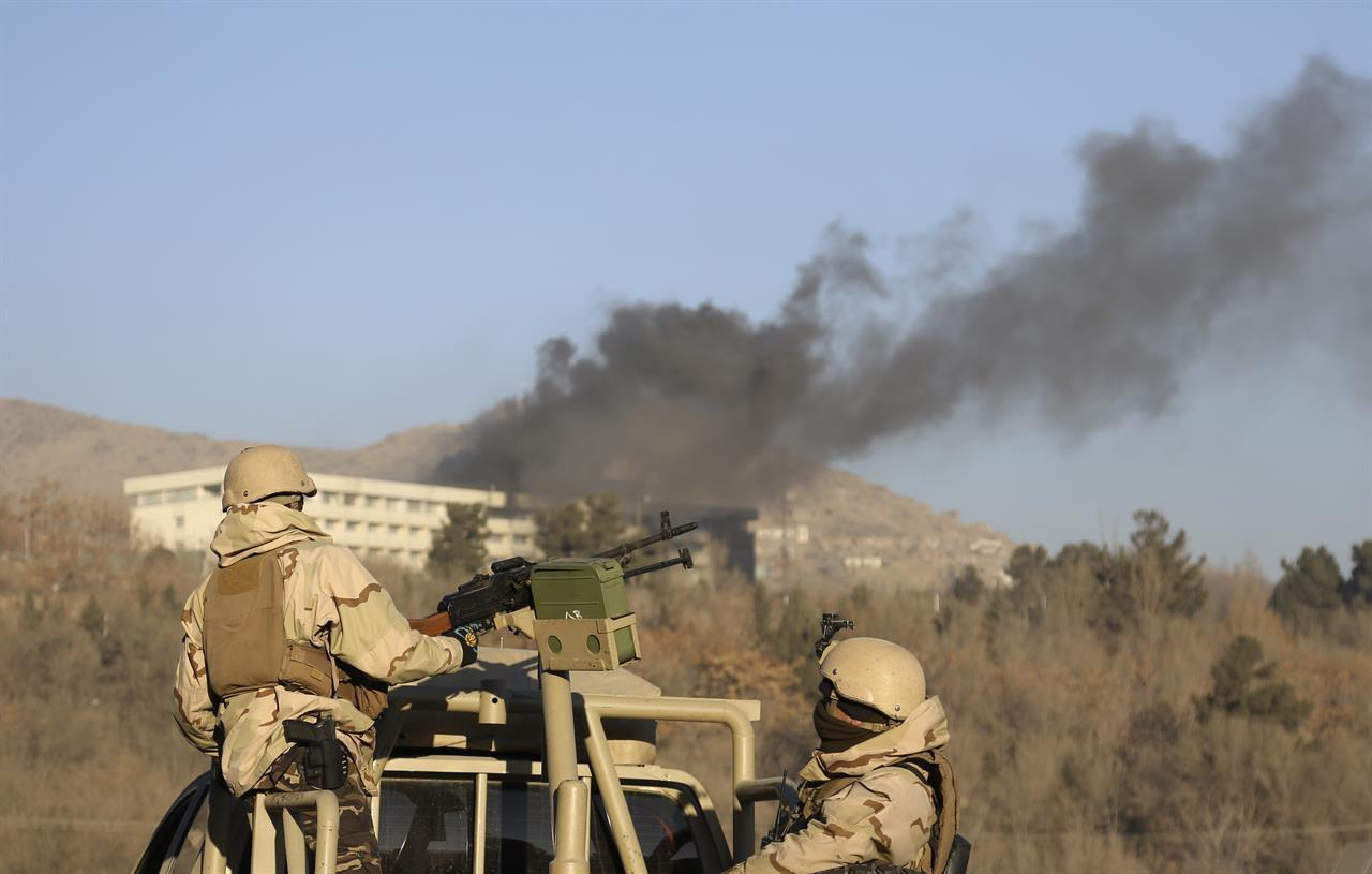 Taliban claims attack on Kabul Intercontinental hotel