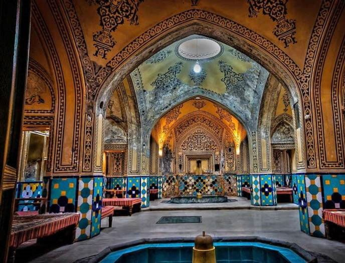 Beautiful Iranian bathhouse, Kashan