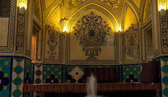 Persian Art in Traditional Bath