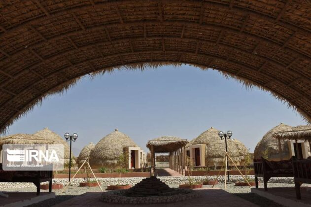 Local Hut Style Hotel in Southern Iran