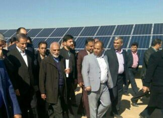 Iran Opens New Solar Power Plant in Yazd