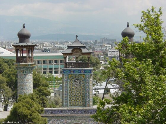 Sepahsalar Mosque in Tehran
