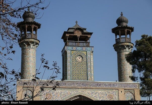 Sepahsalar Mosque, Baharestan, Tehran