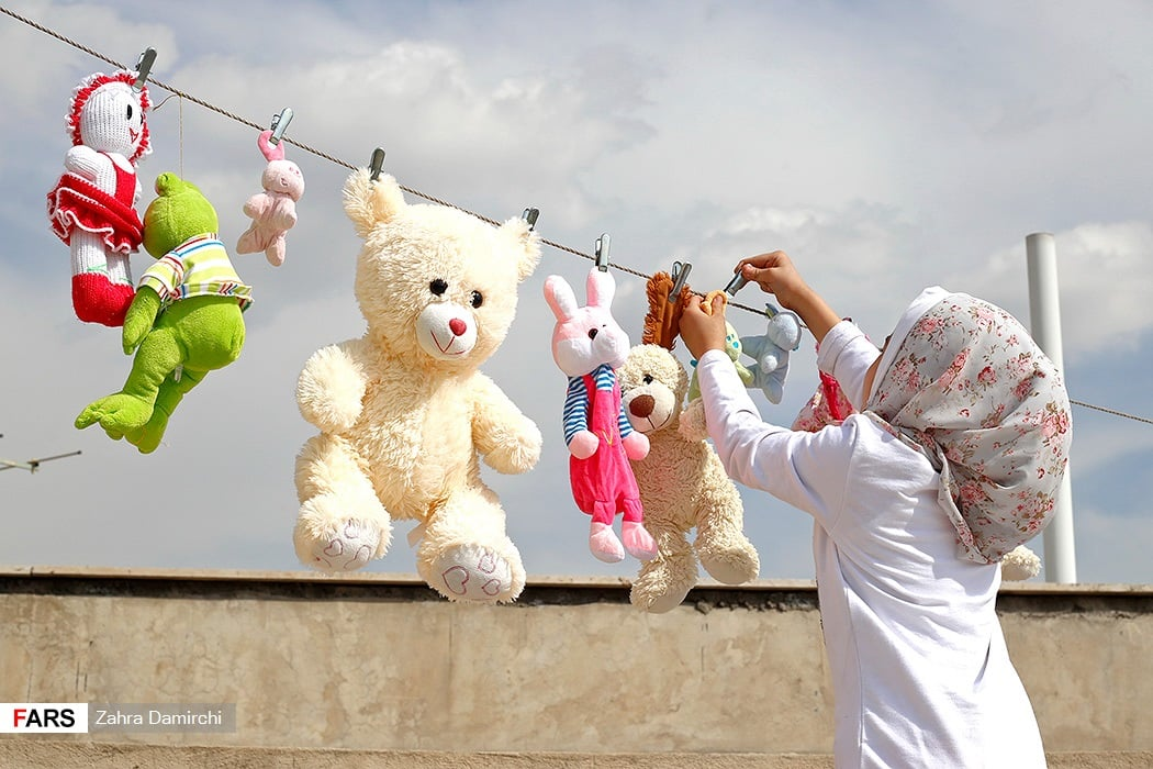 Spring Cleaning before Nowruz in Iran