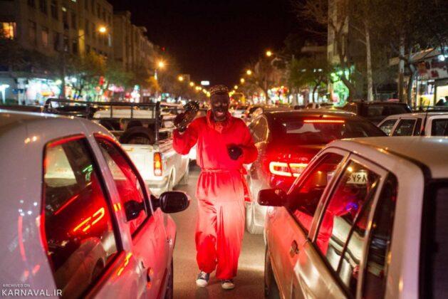 Haji Firooz ; Traditional Persian New Year Ritual