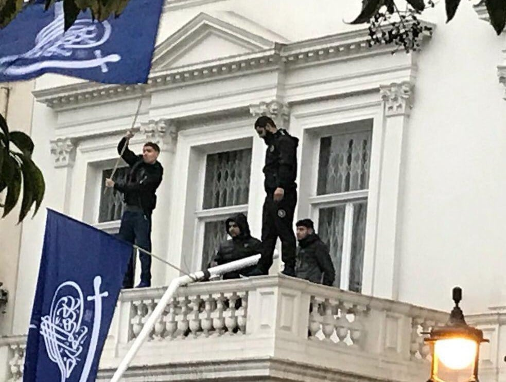 Iranian embassy in London stormed by followers of arrested cleric