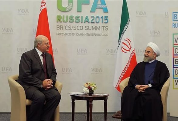 Lukashenko congratulates anniv. of diplomatic relations with Iran