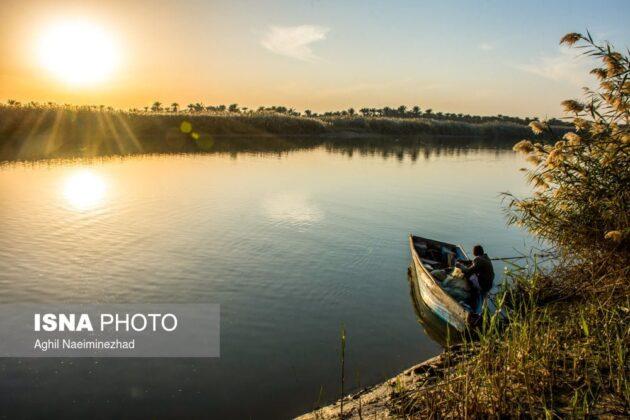 Bahmanshir River, Southwestern Iran
