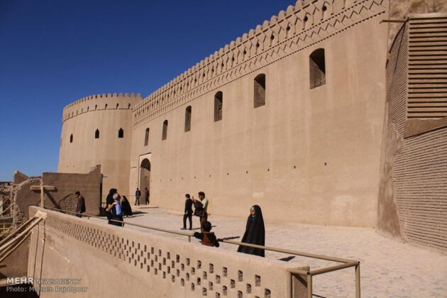 Iran's Beauties in Photos: Bam Citadel