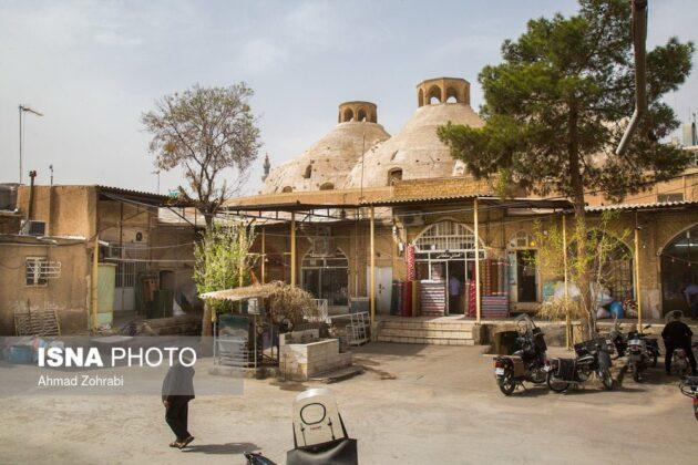 Persian Architecture in Photos: Bazaar of Qom