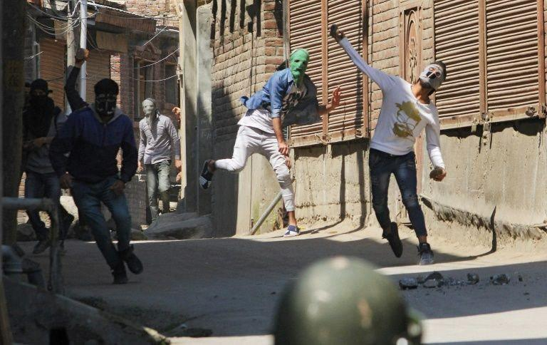 Violence erupts in Kashmir after security forces kill militants, say police
