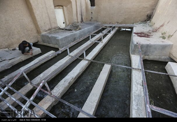 Old Iranian Watering System