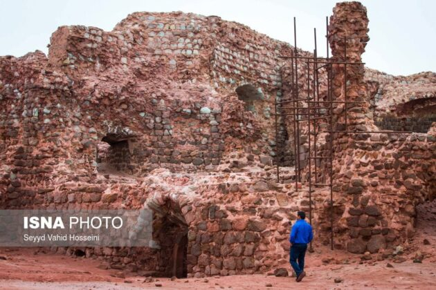 Iran's Beauties in Photos: Portuguese Castle in Hormuz Island