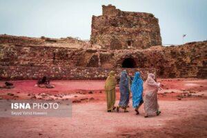 Iran's Beauties in Photos: Portuguese Castle in Hormuz Island