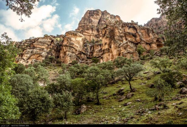 Shirz Canyon, Iran