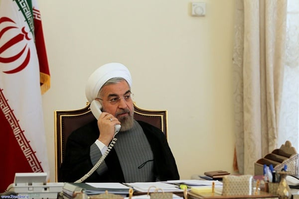 Iran's Rouhani slams some Arab states for