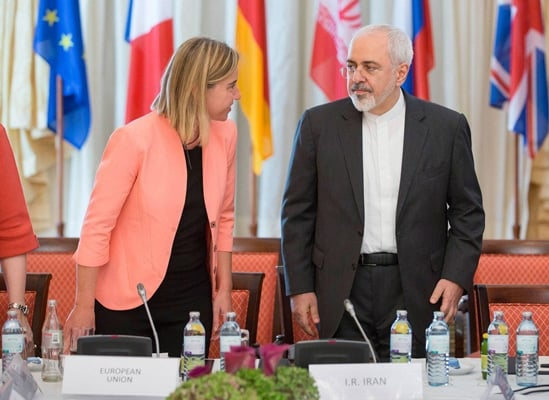 Iran's Zarif Hails 'Constructive Meeting' With EU On Nuclear Deal