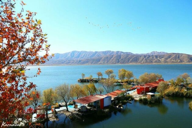 Iran's Beauties in Photos: Lake Zrebar