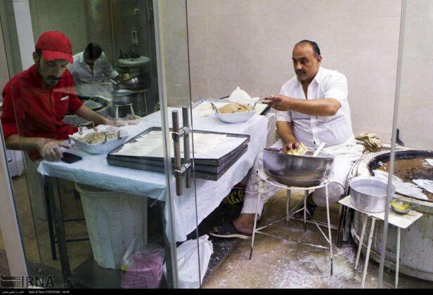 Making Reshteh-khoshkar, northern Iran
