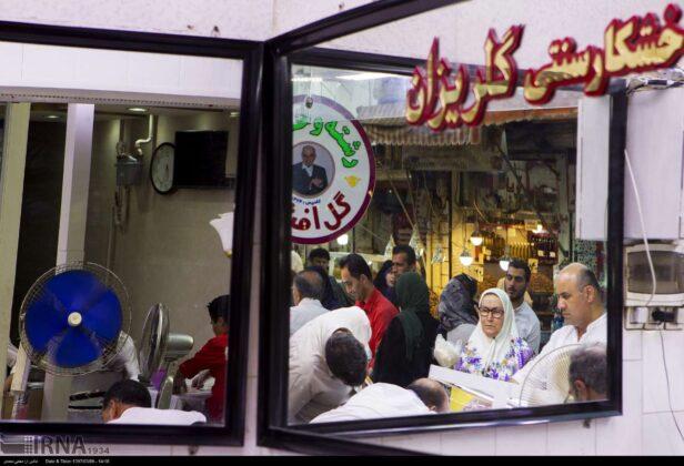 People Buying Reshteh-Khoshkar, northern Iran