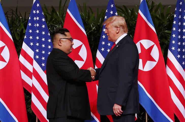 Kim, Trump Hold Historic Summit with Many Breakthroughs