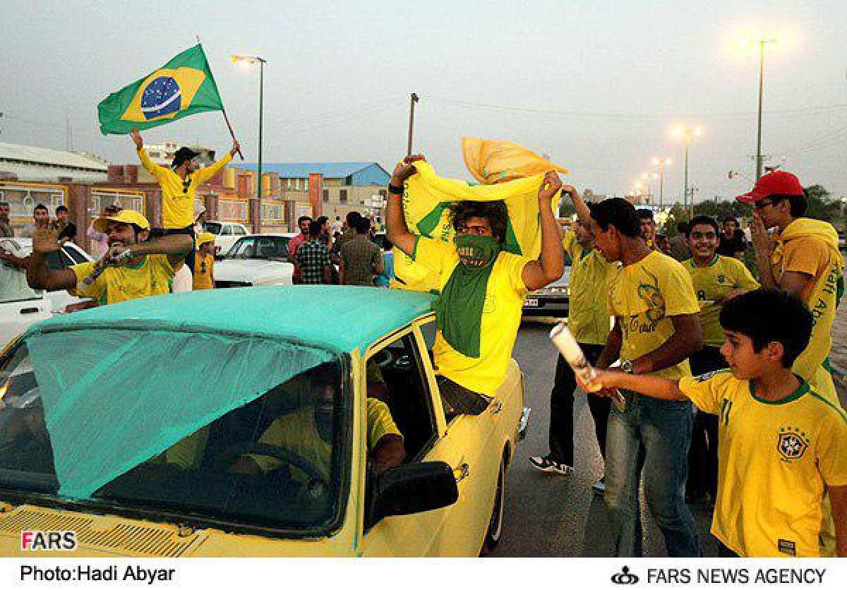 Iran S Abadan Number One Fan Of Brazil In Fifa World Cup Iran Front Page