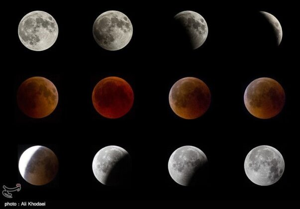 Longest Lunar Eclipse of Century_in iran