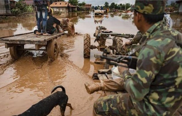 Korea to Send Disaster Relief Team to Laos on Sunday