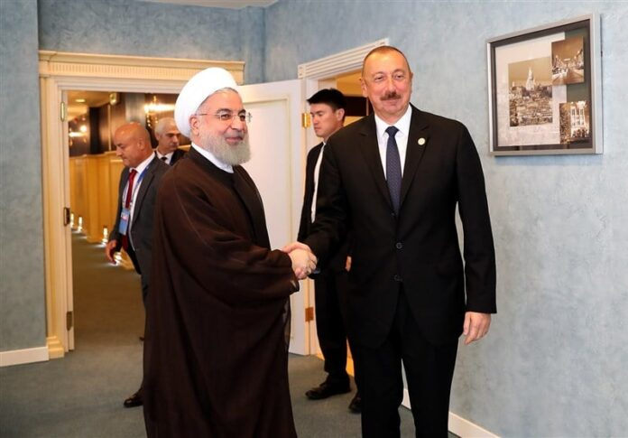 Azerbaijan President Denounces US Sanctions on Iran