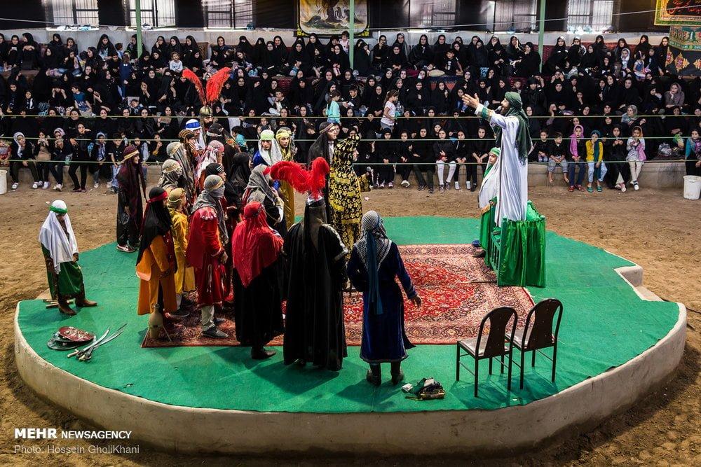 Hesar Kharvan; A Hub of Passion Play in Iran during Muharram   Iran Front Page