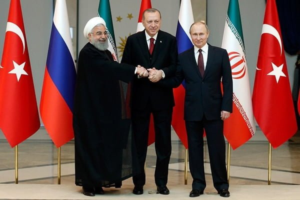Putin, Erdogan in Tehran to Attend Trilateral Meeting on Syria
