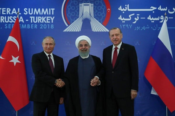 Putin, Erdogan in Tehran to Attend Trilateral Meeting on Syria