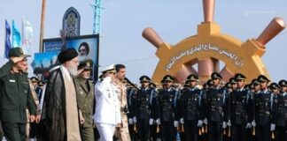 Iran Leader Attends Graduation Ceremony of Army Cadets