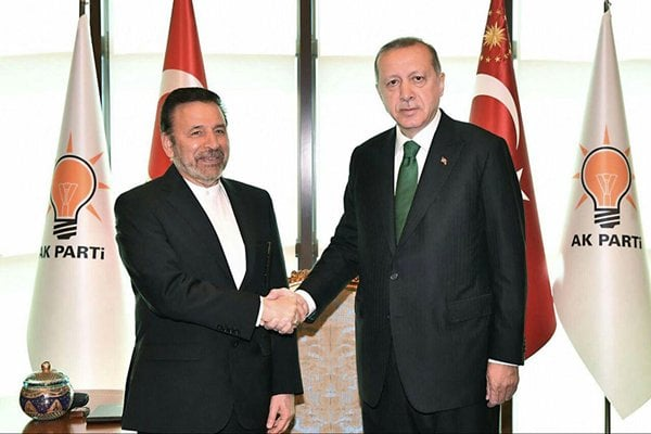 Erdogan Calls for Promotion of Trade with Iran