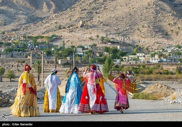 Iranian Women, Historical Chogan Canyon