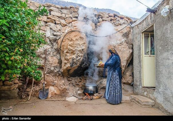 Iranian Woman, Historical Chogan Canyon